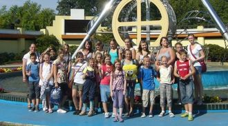 Die Messdiener im Moviepark